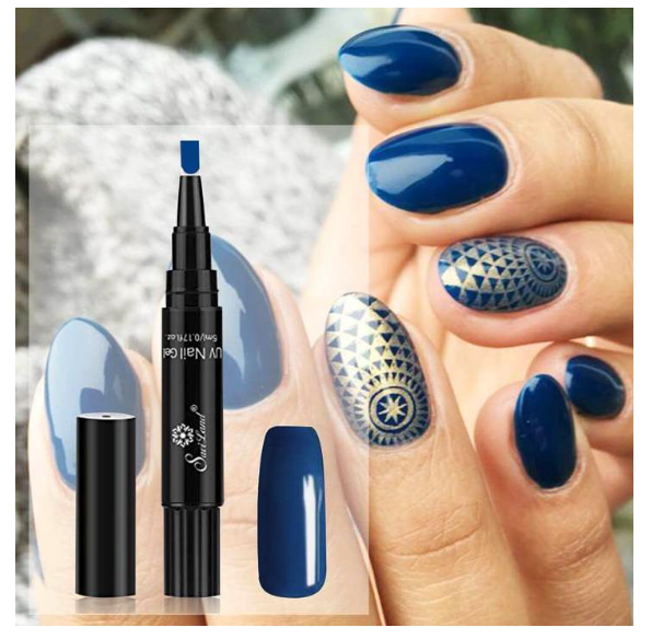 3 in 1 Gel Nail Polish Pen - Save 50% Off
