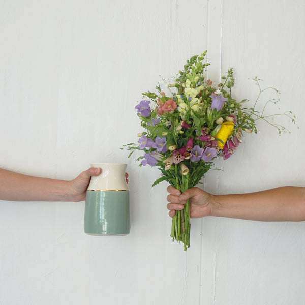 Blue Ridge Blooms Flower CSA + Vase