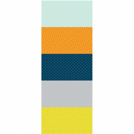 NEW: Woodland Friends: Striped Panel by Nutex