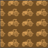 Farmers Fighting Spirit Brown Tractor  by Brett Green for KK Designs