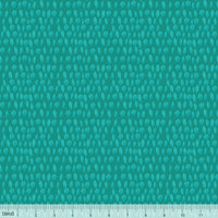 NEW:  Forest Friends Coordinate Sweet Leaves Turquoise by Blend Fabrics