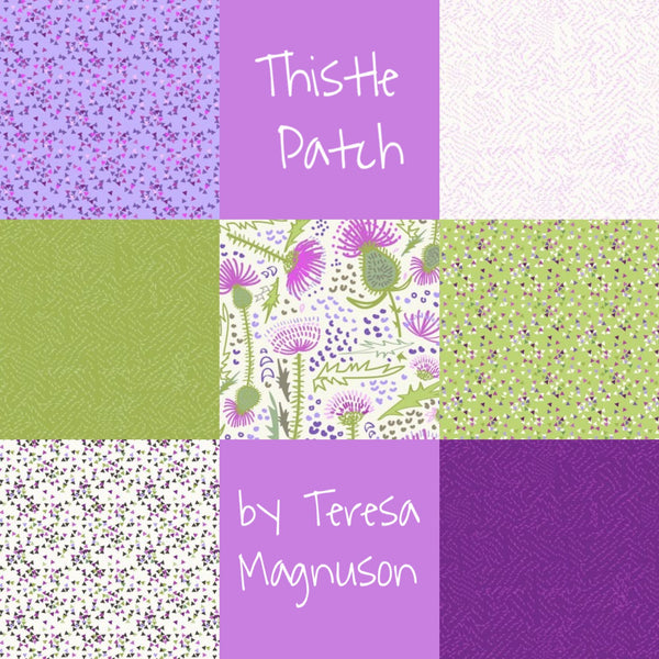 Thistle Patch 7 x 50 cm Bundle By Teresa Magnuson for Clothworks
