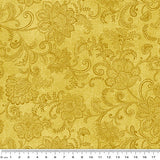 NEW: Accent on Sunflowers: Livingston Medium Yellow by Jackie Robinson for Benartex