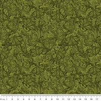 NEW: Accent on Sunflowers: Butterfly Fields Forest by Jackie Robinson for Benartex