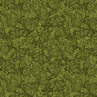Accent on Sunflowers: Butterfly Fields Forest by Jackie Robinson for Benartex