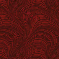 Wave Texture - Dark Red by Benartex