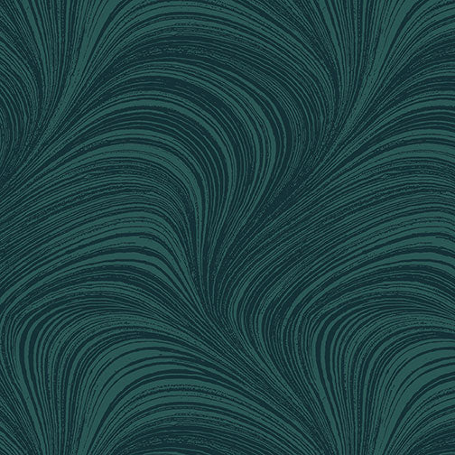 Wave Texture - Teal by Benartex