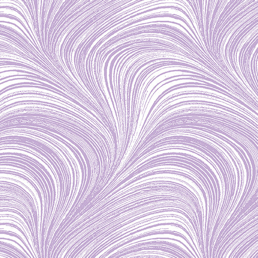 Pearlescent Wave Texture - Lavender by Benartex