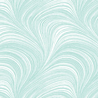 Pearlescent Wave Texture - Ice Blue by Benartex