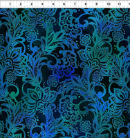 NEW Tapestry - Brocade Blue by Jason Yenter for In The Beginning