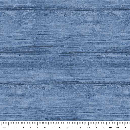Washed Wood: Marine Blue by Benartex