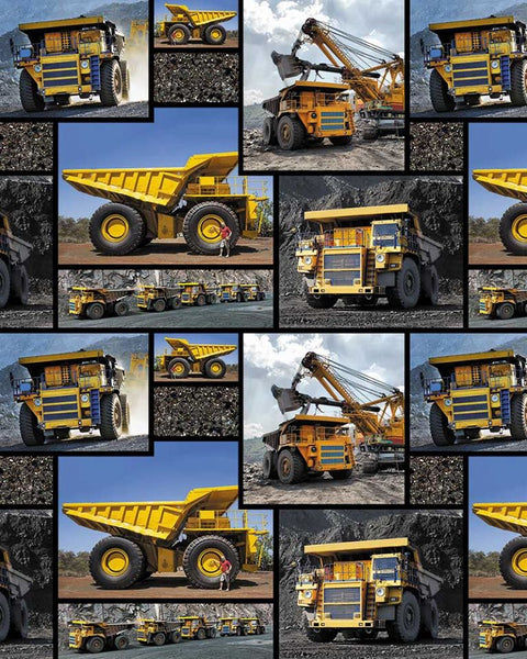 Mining Trucks by KK Designs