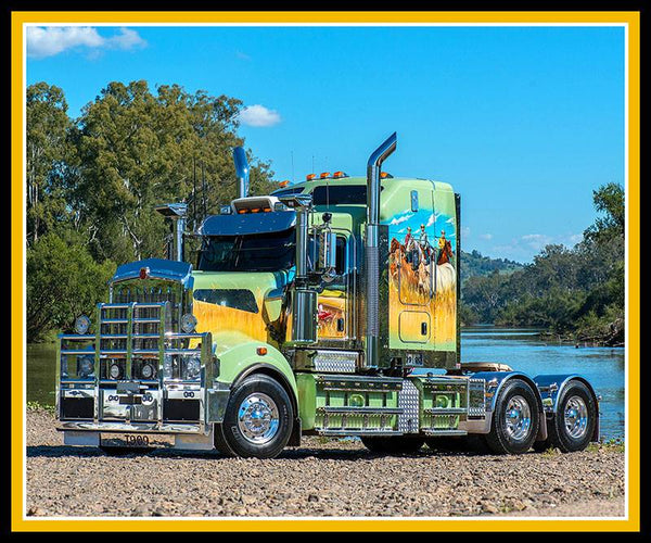 Big Rigs Panel by KK Designs