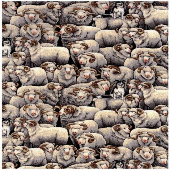 Merino Sheep -- Grey by Nutex