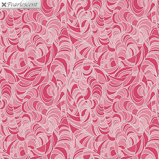 Lilyanne: Ripple Pink by Ann Lauer for Benartex