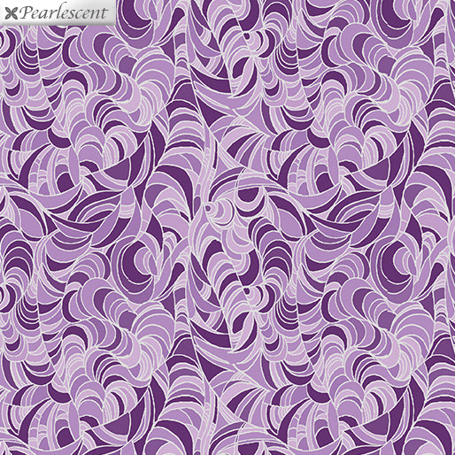 Lilyanne: Ripple Purple by Ann Lauer for Benartex