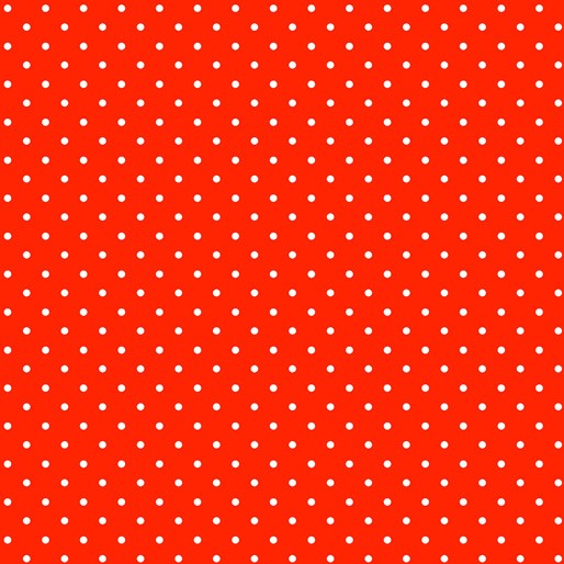 Strawberry Fields Forever: Forever Dots Red by Benartex