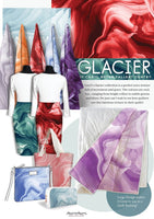 Glacier: Teal by Caryl Bryer Fallert for Benartex