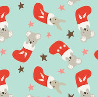 Festive Christmas: Koala Stockings Amanda Joy Designs