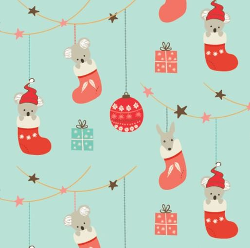 Festive Christmas: Christmas Ornaments Friends Amanda Joy Designs