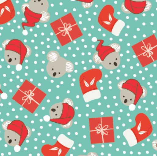 Festive Christmas: Koala Presents Amanda Joy Designs