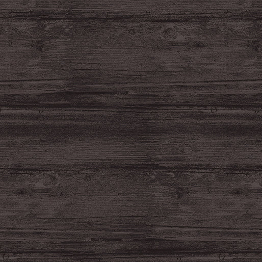 Washed Wood: Gunmetal by Benartex