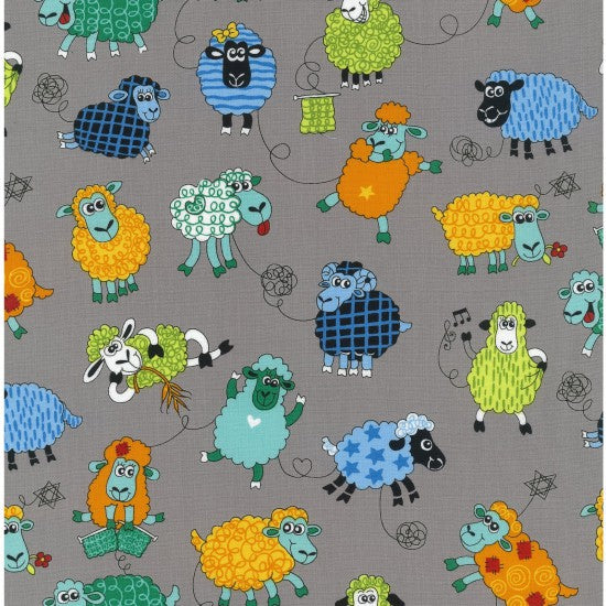 NEW: Farm Fun - Sheep by Nutex - 100% Cotton