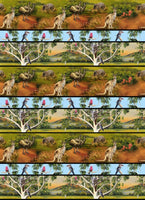 Wildlife Valley Stripe Australian Animals by KK Designs