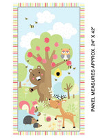 SALE; Friendship Forest Panel only by Kanvas for Benartex