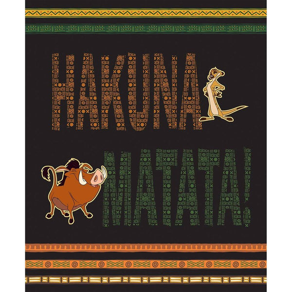 The Lion King - Hakuna Matata (No Worries) Panel