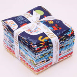 Cops and Robbers Fat Quarter Bundle by Riley Blake