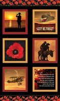 Remembering Anzac:  WWI Block Panel by KK Designs