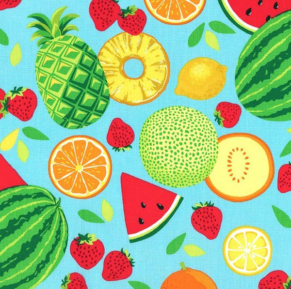 Sew Fruity - Caribe Fruit Toss by Michael Miller - 100% Cotton