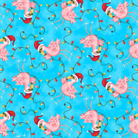 Holiday Beach:  Flamingos by Blank Quilting