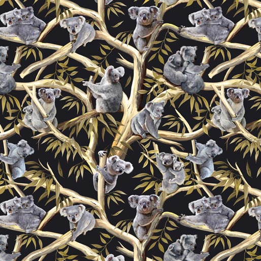 NEW: Koalas: Koala in Trees/Eucalyptus Leaves by KK Designs