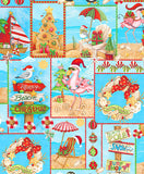 Holiday Beach: Tropical All Over by Blank Quilting