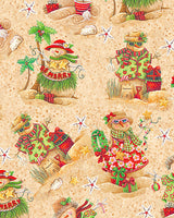 Holiday Beach: Tropical Snowmen by Blank Quilting