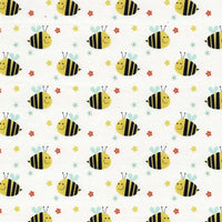 Buzzy Bees: on White
