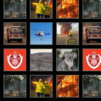 "NEW Wildfire Heroes: 6"" Blocks - Firefighters, Firetrucks, Fire by KK Designs"