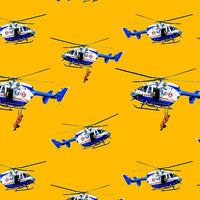 Wildfire Heroes: Helicopters Repeat by KK Designs