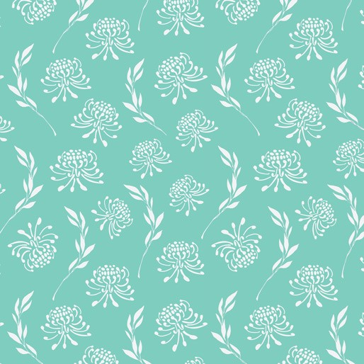 Australiana Soaring: Waratahs on Turquoise by Amanda Joy Designs