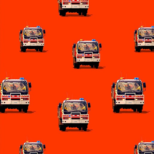 NEW Wildfire Heroes: Firetrucks Repeat Red by KK Designs