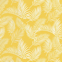 NEW Australiana Soaring: Ferns on Yellow by Amanda Joy Designs