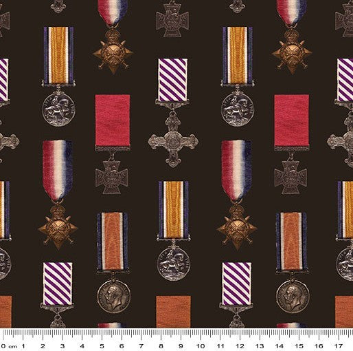 Remembering Anzac: Medals by KK Designs
