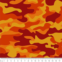 Remembering Anzac: Camouflage Orange by KK Designs