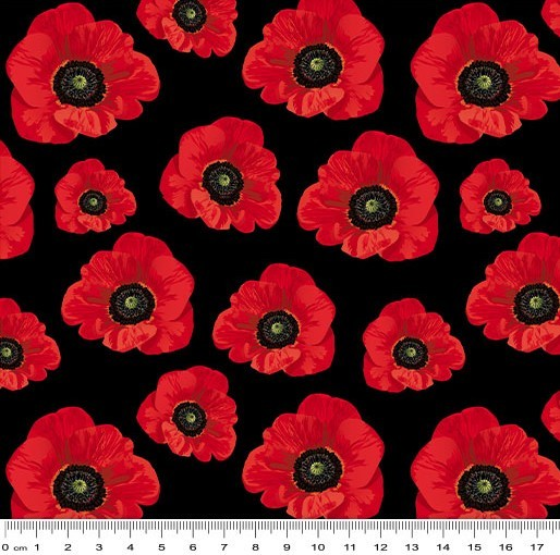 Remembering Anzac: Small Poppies by KK Designs