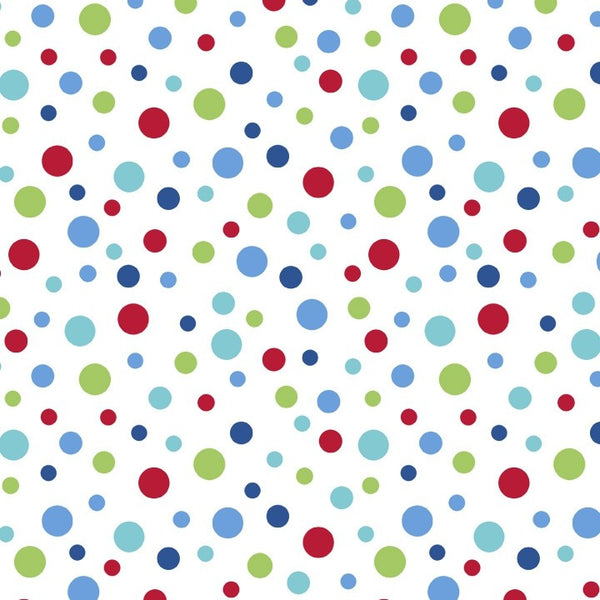 FLANNELETTE Bright Dots by Riley Blake