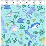 NEW Oceans Away Marine by Rebecca Jones for Clothworks
