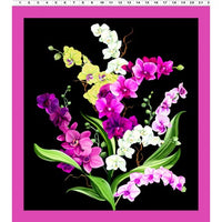 NEW Orchid Fancy Panel by By Cedar West for Clothworks