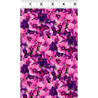 NEW Orchid Fancy by By Cedar West for Clothworks
